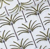 Bild von Palms - Cotton Lawn - Gebrochenes Weiß