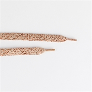Picture of Shoelaces - Grayed Pink with Copper Lurex