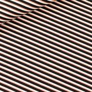 Image de Diagonals - M - Toile de Coton Gabardine - Noir & Blanc & Cuivre