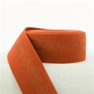 Image de Ceinture élastique - Rouille avec Lignes en Cuivre