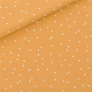 Bild von Snow Dots - M - French Terry - Honiggelb